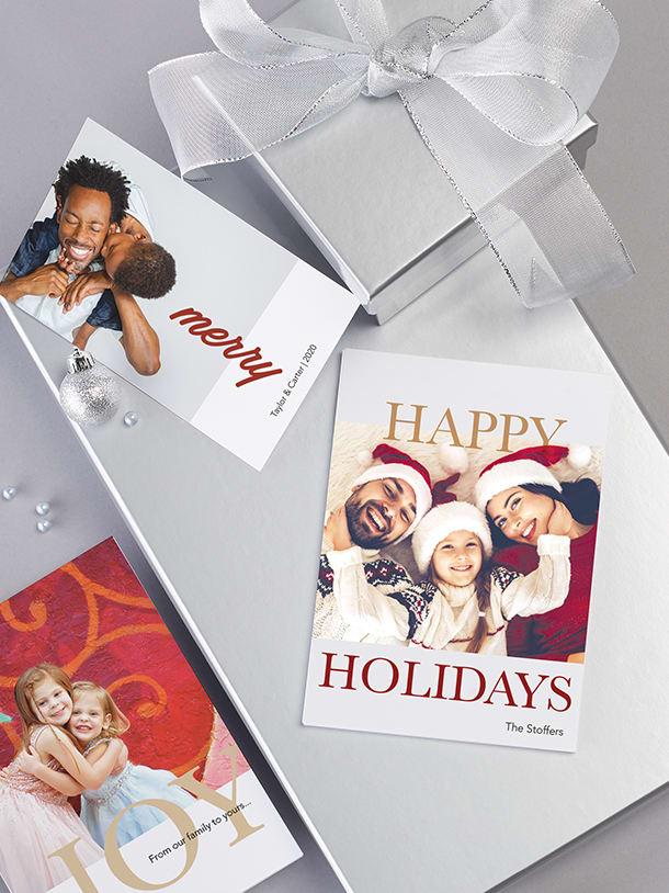 60% off custom cards & calendars