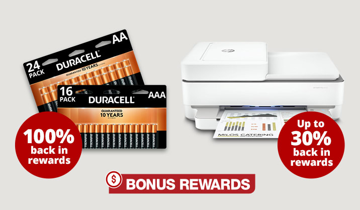 Earn Bonus Rewards