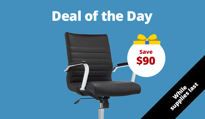 $89.99 Realspace Modern Comfort Winsley chair