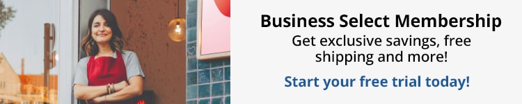 Business Select Membership. Get exclusive savings, free shipping and more! Start your free trial today!
