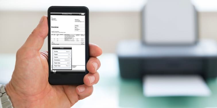 Printing from a Mobile Device: Increase Productivity and Improve Workflow