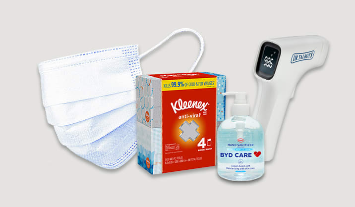 Health & Wellness. Stock up on hand sanitizers, masks & more