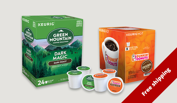 $10 Kcup® Pods on select 22/24 counts