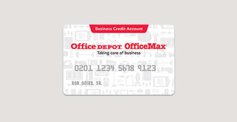 Office Depot® Credit Account