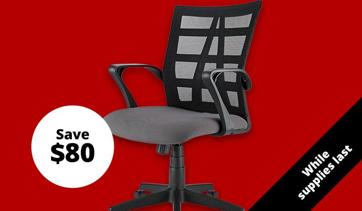 $69.99 Brenton Studio® Jaxby Mid-Back Task Chair