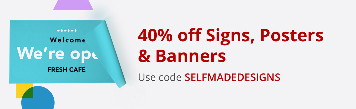 40% off Signs, Posters & Banners
