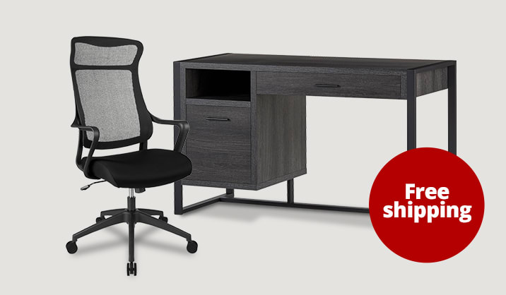 Deals under $150 on select chairs, desks and chair mats