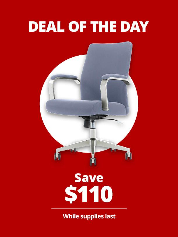 $149.99 Serta® SitTrue™ Devara Mid-Back Manager Chair