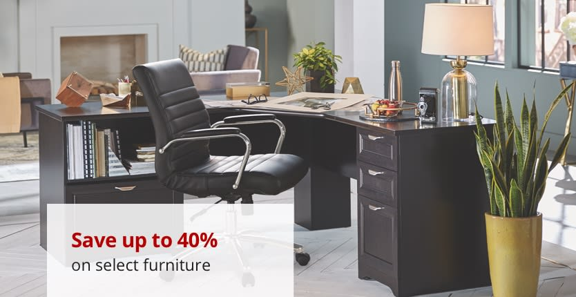 Save up to 30% on select furniture