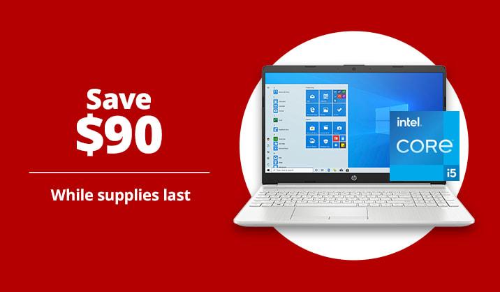 "$539.99 HP 15 15.6"" Laptop, 8GB Memory, 2TB Hard Drive, Windows® 10"