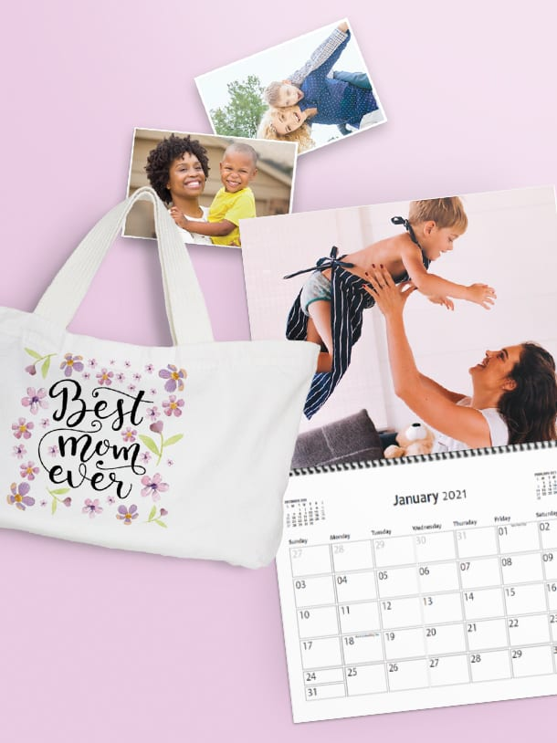Mother's Day is May 9th 40% off all photo products - Same day options available