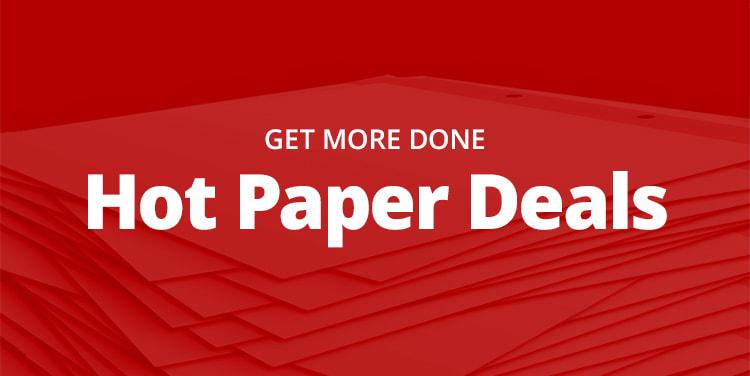 Hot paper deals