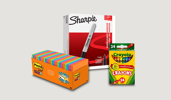 Save up to 40% on select office supplies