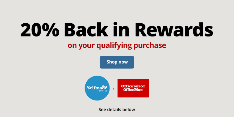 20% Back in Rewards on your qualifying purchase