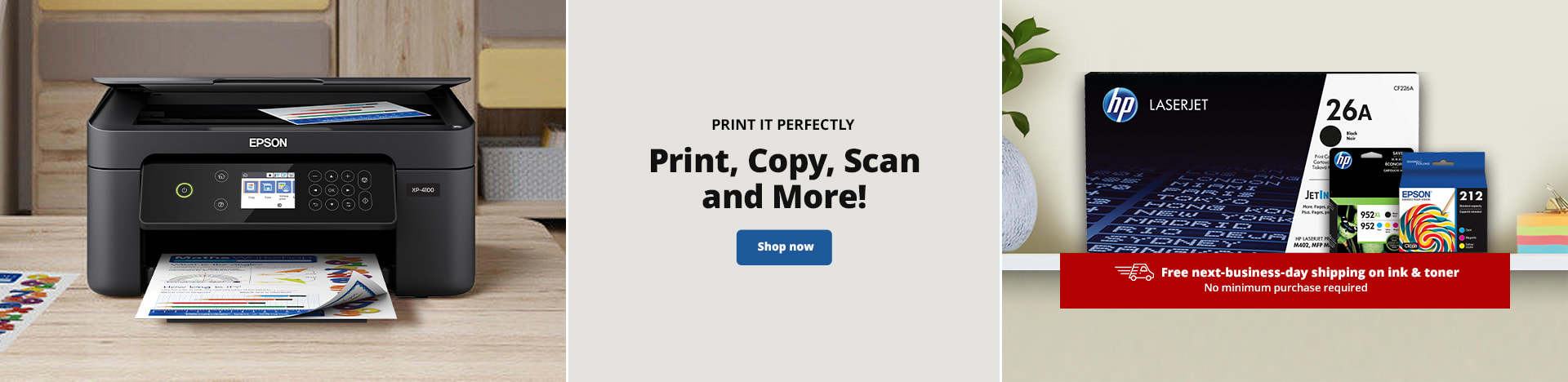 Print it Perfectly. Print, Copy, Scan and More!