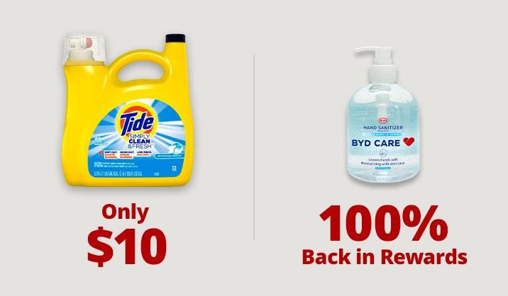 Stock up and Save on hand sanitizers, cleaning products & more