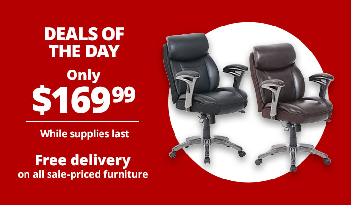 Only $169.99 Serta® Smart Layers™ Siena Mid-Back Manager's Chair