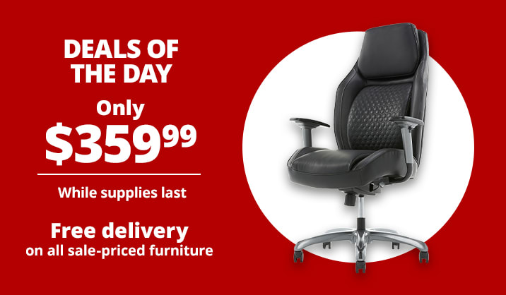 Only $359.99 Shaquille O'Neal™ Zephyrus High-Back Executive Chair