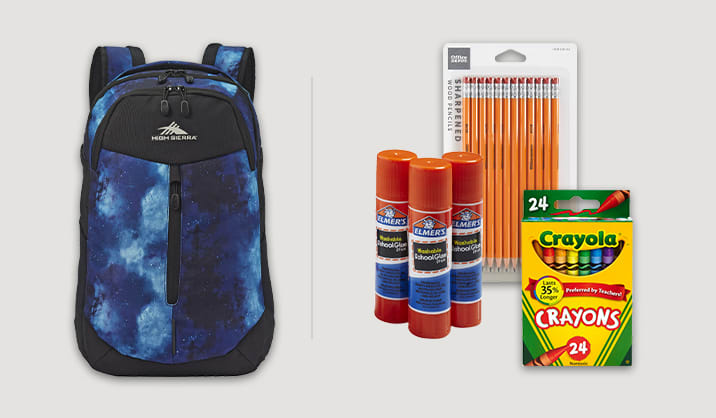 Save up to 50% on select school supplies