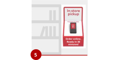 Order online, ready in 30 minutes