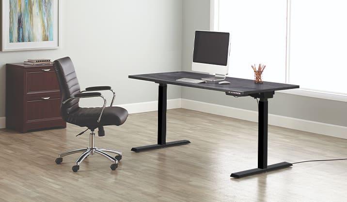 Realspace Magellan Height-Adjustable Desk