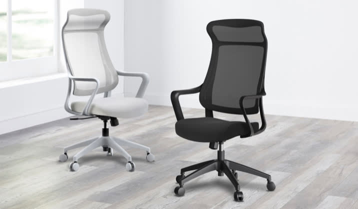 Realspace® Lenzer Mesh High-Back Task Chair