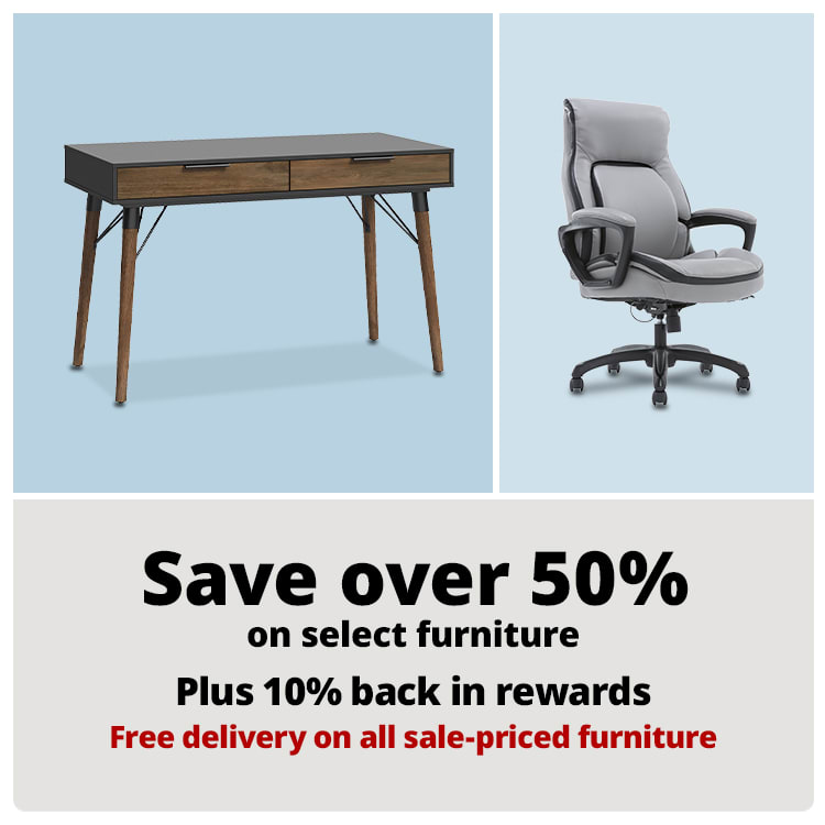 Save over 50% on select Furniture