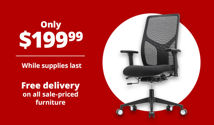 Only $199.99 WorkPro® 4000 Series Multifunction Ergonomic High-Back Executive Chair