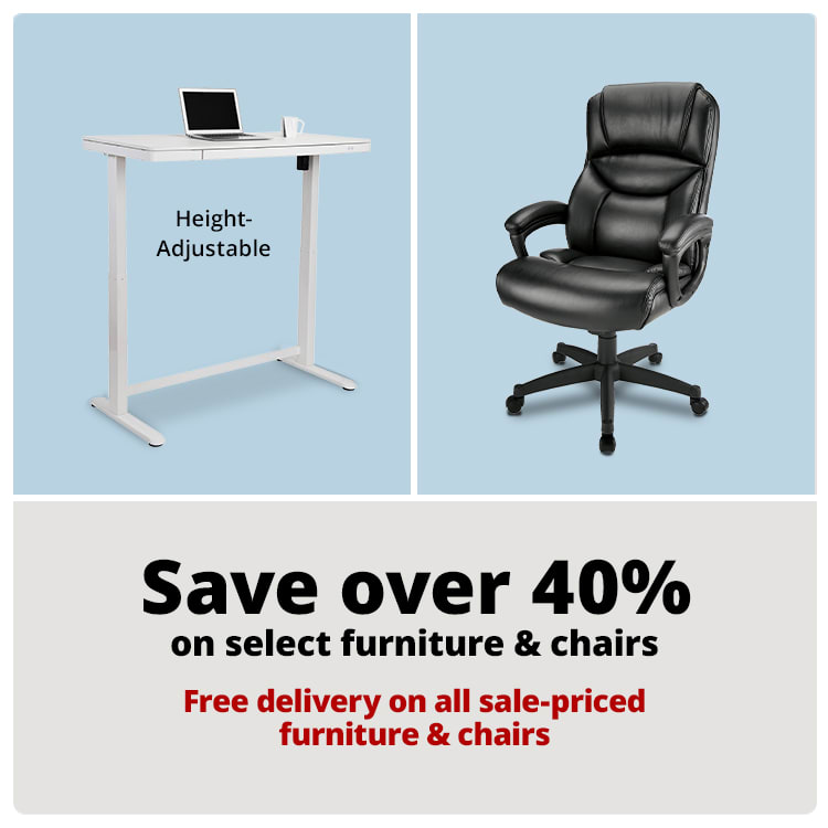 Save over 40% on select furniture & chairs