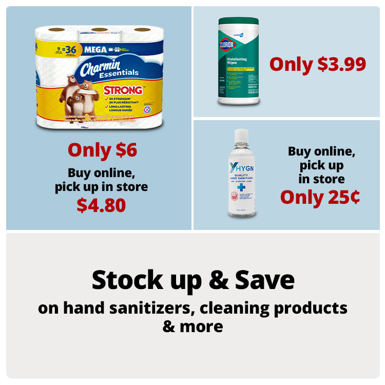 Stock up & Save