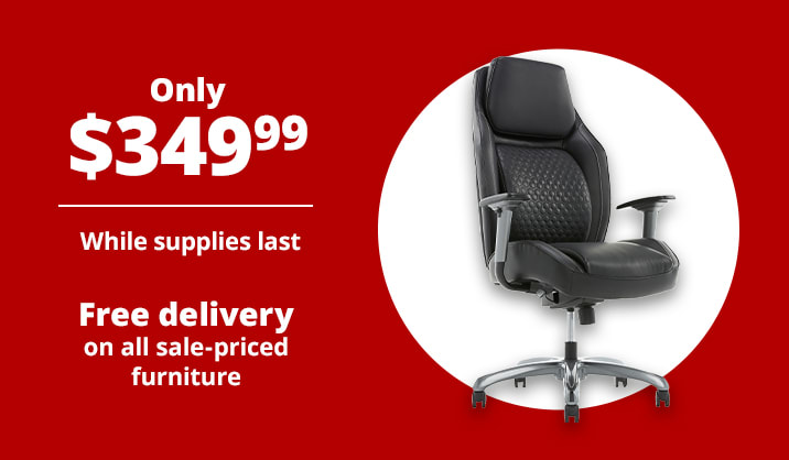 Only $349.99 Shaquille O'Neal™ Zephyrus High-Back Executive Chair