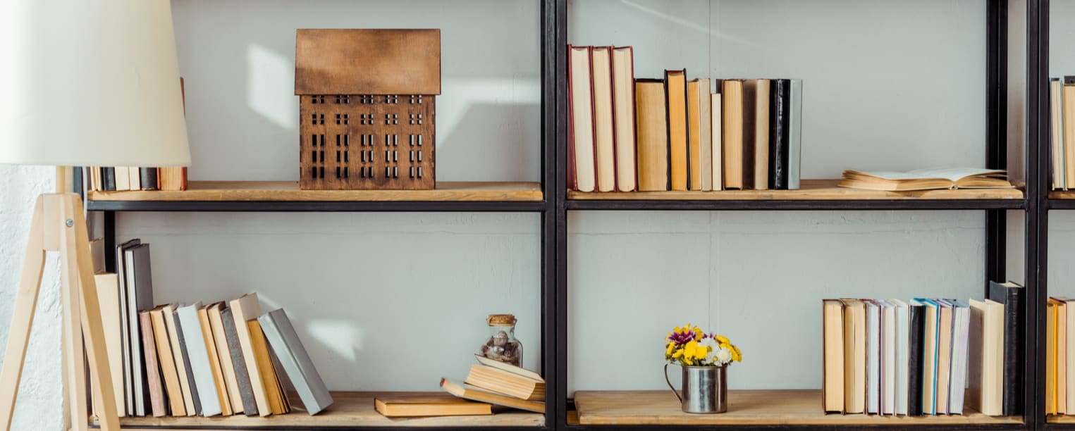 Creative ideas for bookcases, shelving, and other storage units