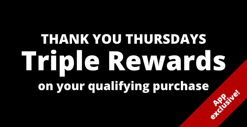 3x back in rewards