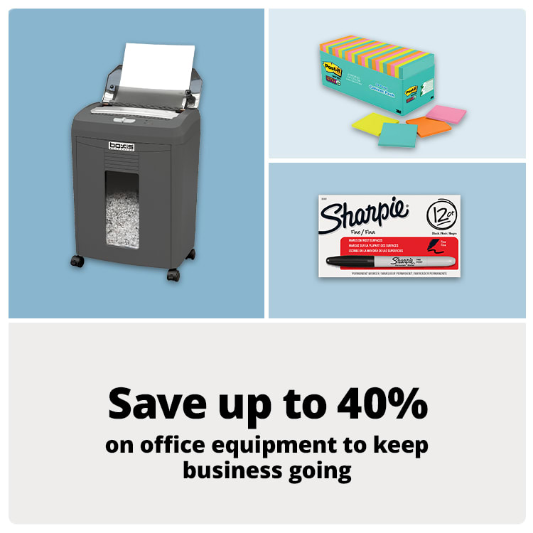 Save up to 40% on office essentials