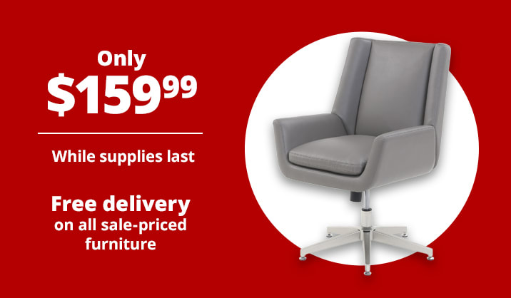 Only $159.99 Serta® SitTrue™ Montair Mid-Back Manager Chair