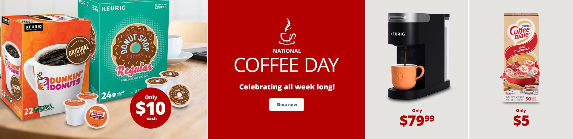 National Coffee Day. Celebrating all week long!