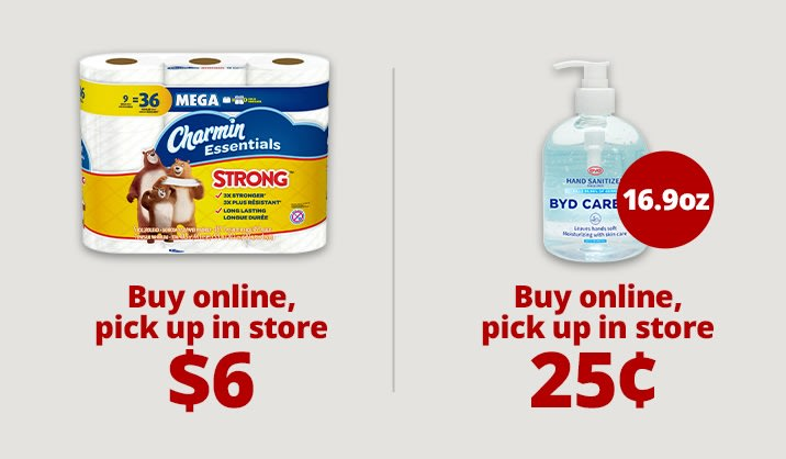 Stock up & Save on toilet paper, masks, and more