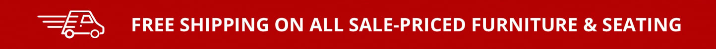Free Shipping on all sale-priced furniture & seating