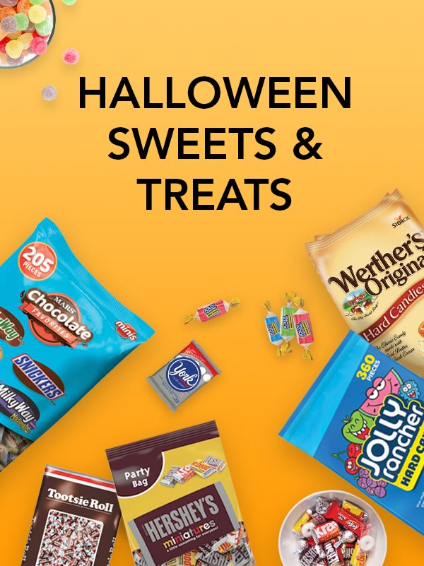 Halloween is here! Shop candy, decor & more