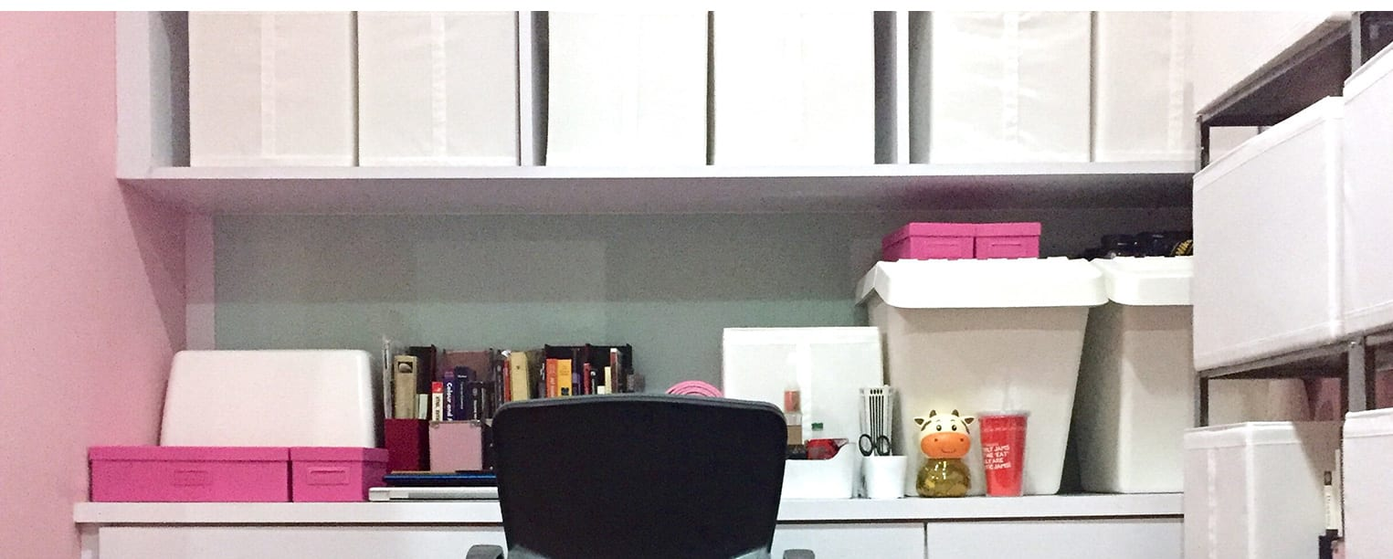 How to Turn Your Closet into a Stylish Home Office
