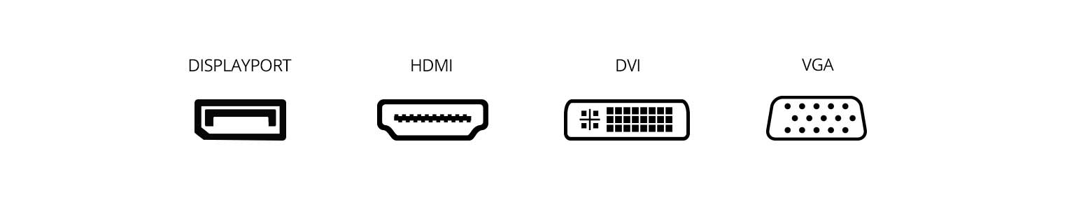 Monitor Connector Ports