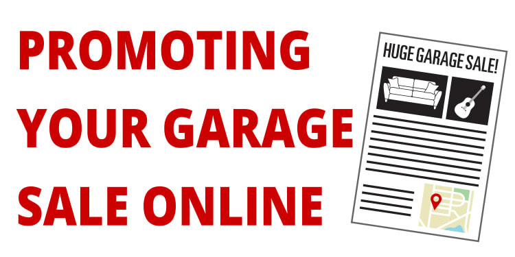 Promoting Your Garage Sale Online