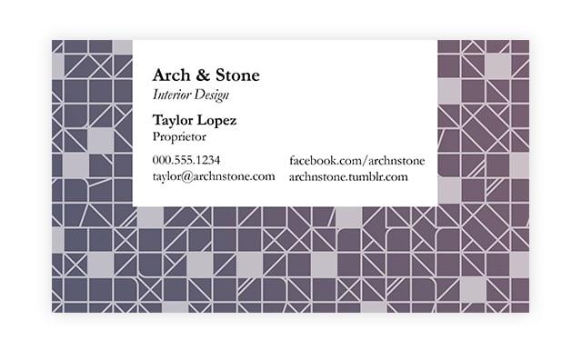 Tailor Your Card-Business Card Etiquette 2