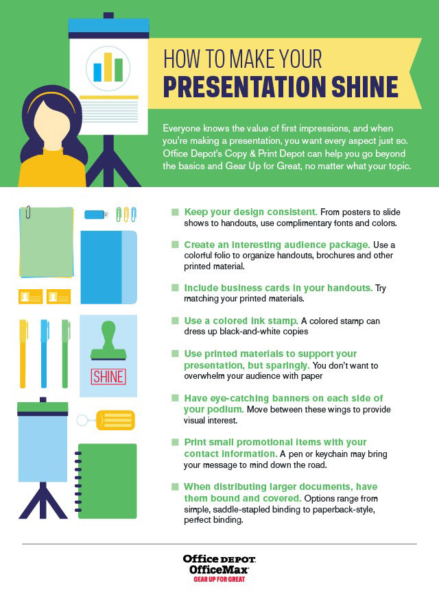 Go beyond the typical presentation with these tips.