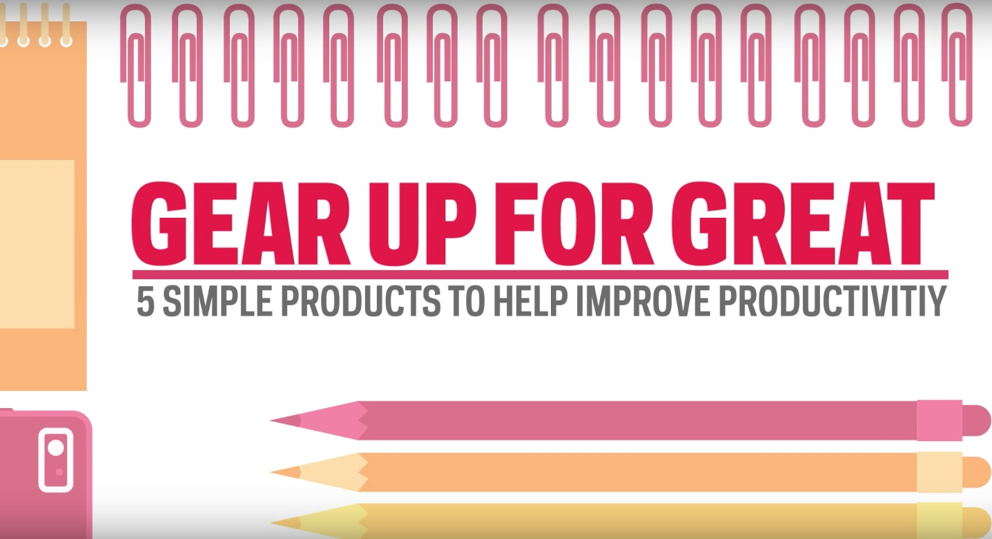 5 Simple Products to Improve Productivity