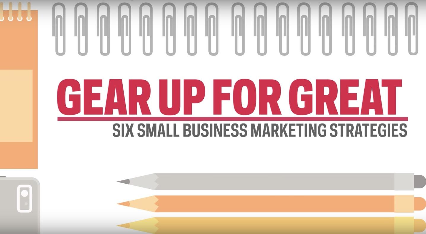 6 Small Business Marketing Strategies