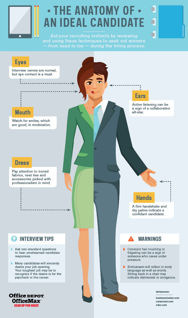 The Anatomy of an Ideal Candidate [Infographic]