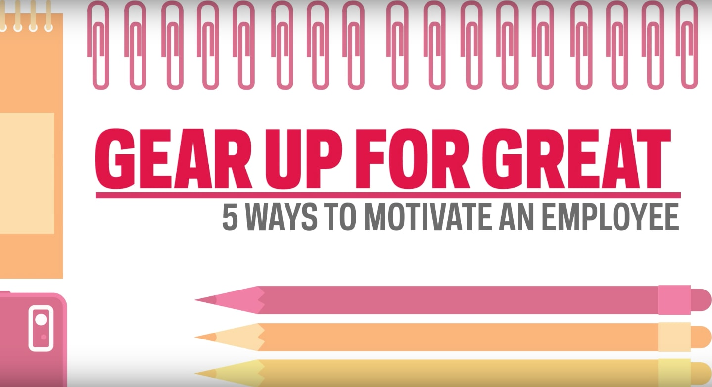 5 Ways to Motivate Employees