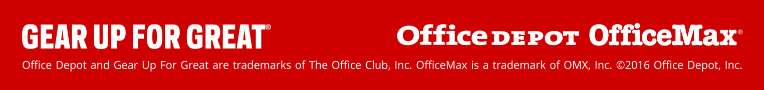 Gear Up for Great Office Depot OfficeMax