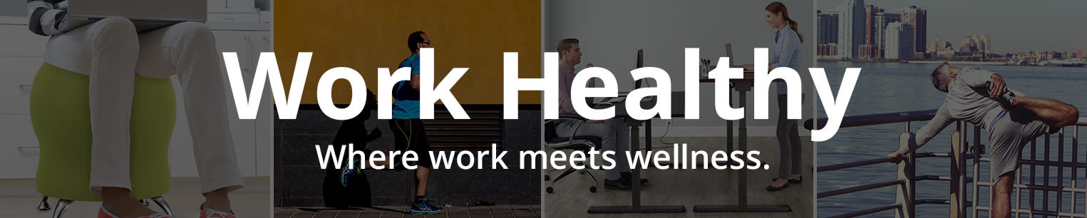 Work Healthy. Where work meets wellness.